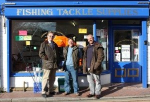 Mark Isherwood at Lure-Ituk Fishing Tackle & TIS, Cefn Mawr